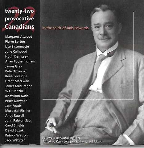 Twenty-two Provocative Canadians