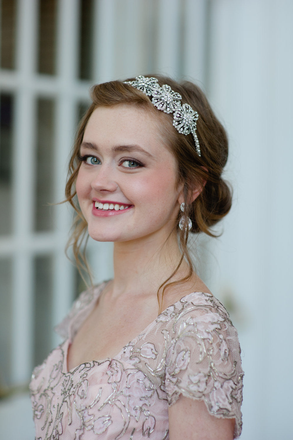 Wedding Rhinestone Headbands pearl and rhinestone bridal headband free image with flowers swarovski pearls