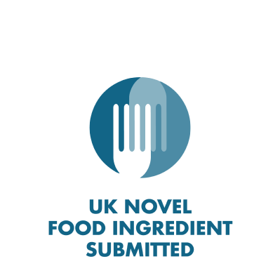 UK Novel Food Ingredient Submitted branded icon badge