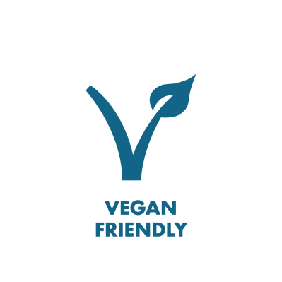 Vegan Friendly branded icon badge