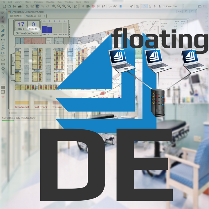ExtendSim DE Floating