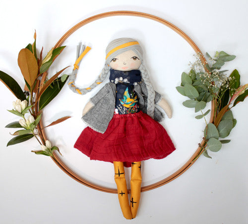 Hand made doll - Bex