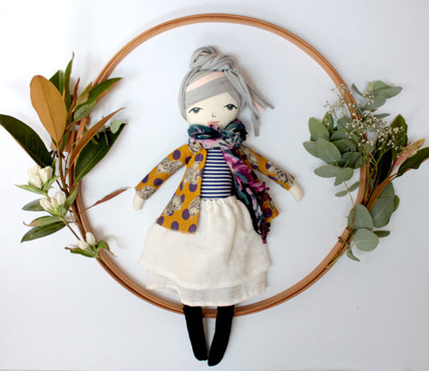 Hand made doll - Colette