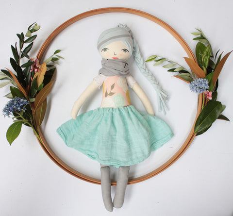 Hand made doll - Winter