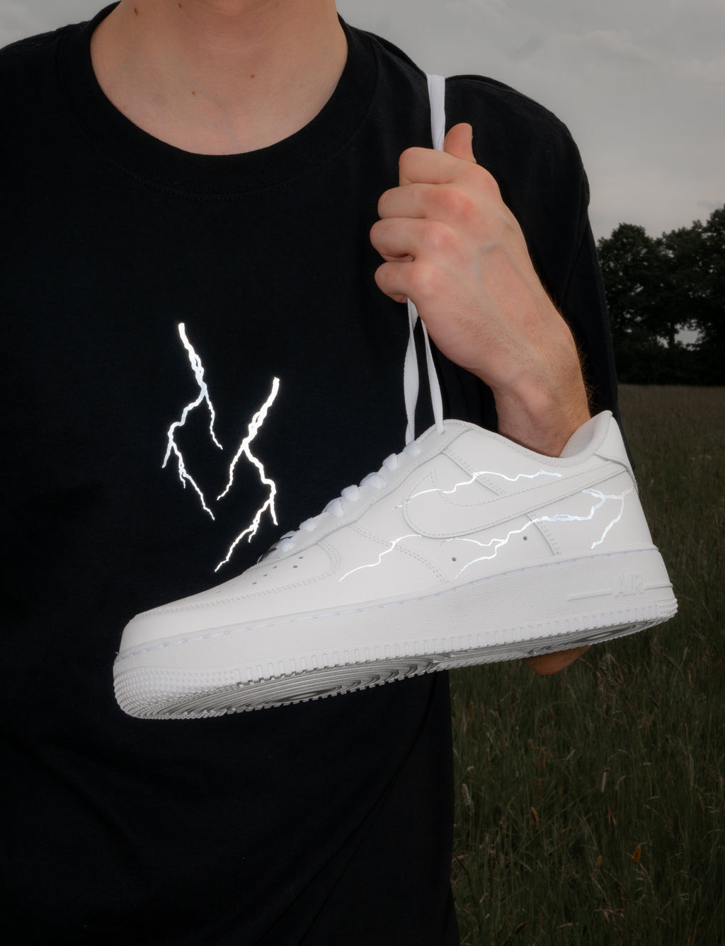 "T-Shirt ""LIGHTNING"" (reflective)"