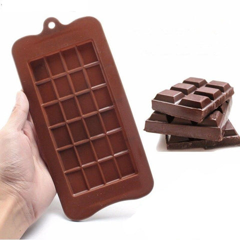 Moule Silicone Tablette CHOCOLAT