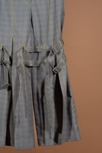 Load image into Gallery viewer, Belted Slit Pants (Plaid)
