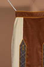 Load image into Gallery viewer, Suspender Skirt (Cream Chocolate)