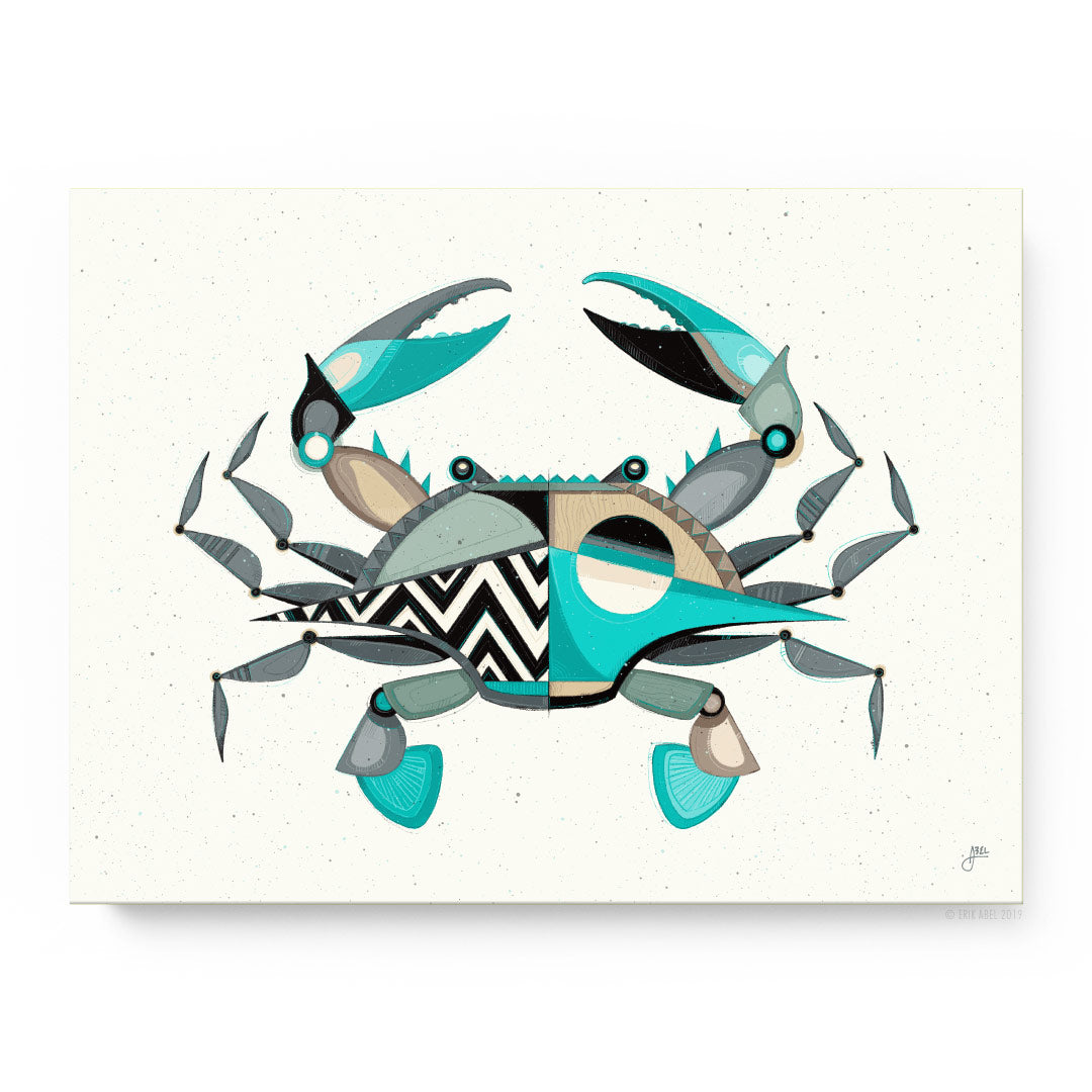 Blue Crabby - Pueo Gallery