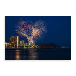 Hilton Fireworks - Pueo Gallery