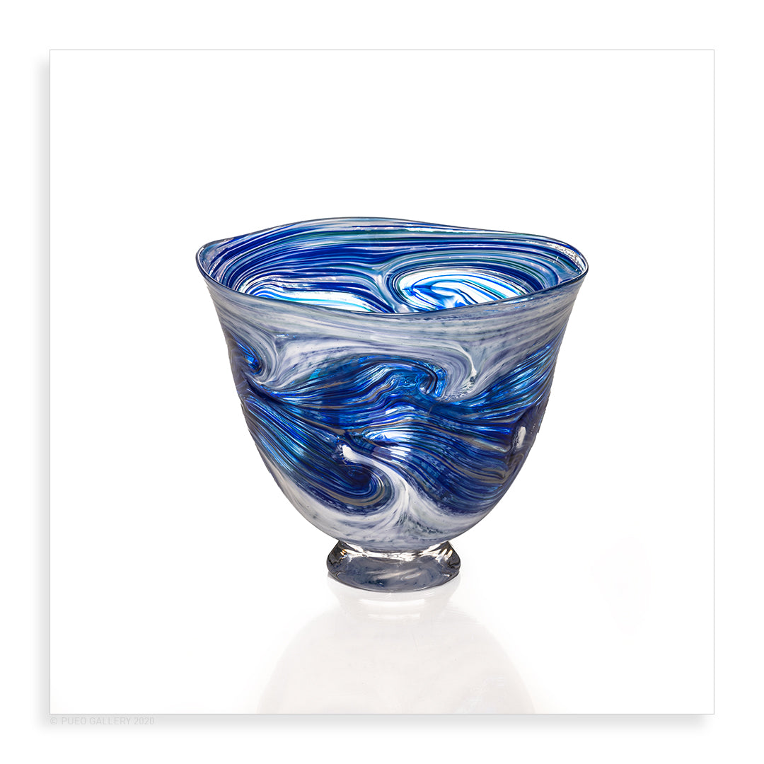 Large Ocean Spray Bowl - Pueo Gallery
