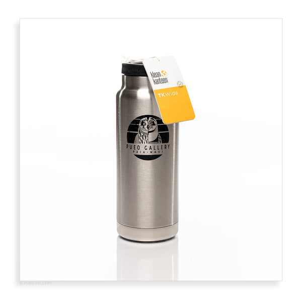 32 ounce insulated Klean Kanteen - Pueo Gallery