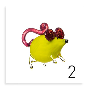 Glass Mice (2) - Pueo Gallery