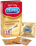 Durex Natural Feeling Condoms - Latex Free Condoms - Pleasuremalta