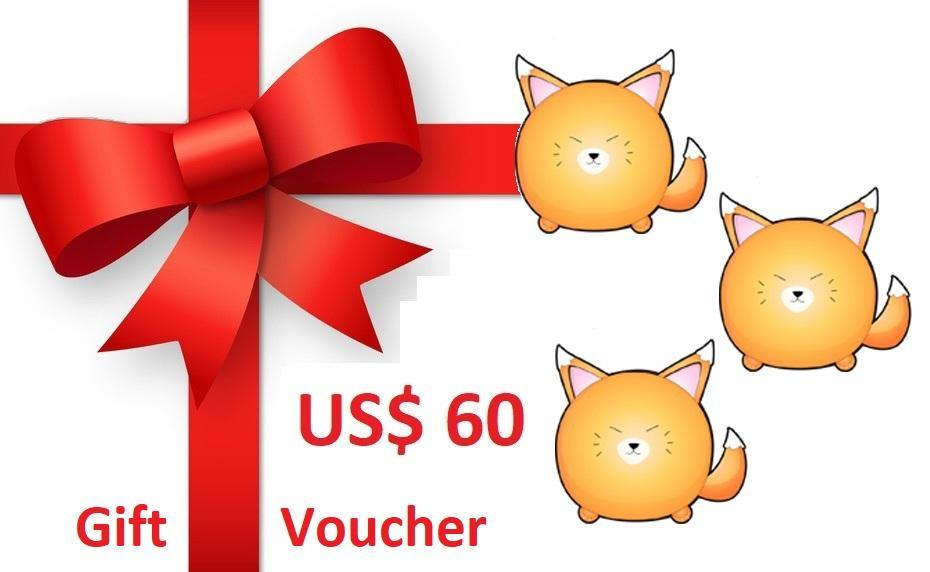 Gift Voucher US$ 60 - The Pet Talk