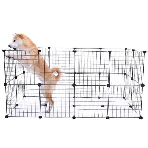 Foldable Durable Fences Pet Guard | The Pet Talk