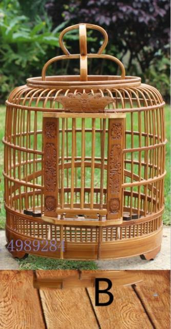 Bamboo Handmade Small Canary Birdcage - The Pet Talk