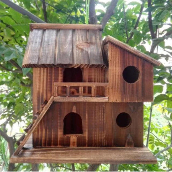 Wood Preservative Bird Nest Outdoor | The Pet Talk