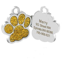 Personalized Pet Tags Engraved Pendant Tag | The Pet Talk