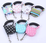 Cute Pet Collar Leash Automatic Retractable Leash | The Pet Talk