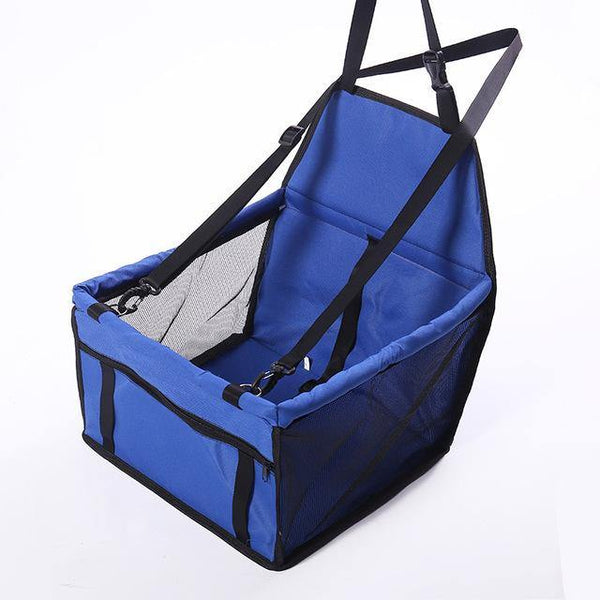 Travel Dog Car Seat Cover Folding Hammock Pet Carriers | The Pet Talk