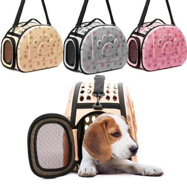 Pet Bag Outdoor Portable Breathable Shoulder Handbag | The Pet Talk