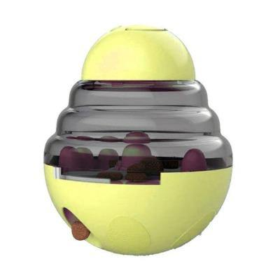 Interactive Dog Cat Food Treat Ball Bowl Tumbler Toy - The Pet Talk