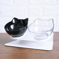 Double Bowls With Raised Stand Pet Food And Water Bowls | The Pet Talk