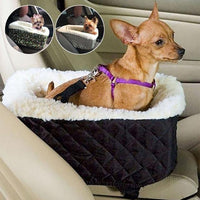 Universal Vehicle Armrest Box Pet Carrier Seat Nonslip | The Pet Talk