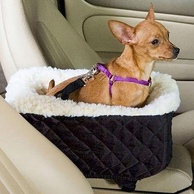 Universal Vehicle Armrest Box Pet Carrier Seat Non-Slip - The Pet Talk