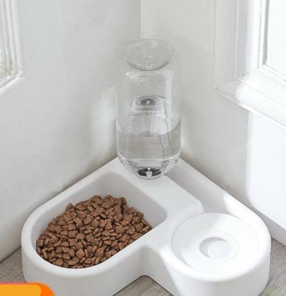 Pet Food & Water Feeder Bowl Automatic | The Pet Talk