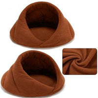 Wrap Around Cave Pet Bed | The Pet Talk