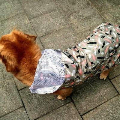 Pet Raincoat Lightweight Hoody Jacket - The Pet Talk