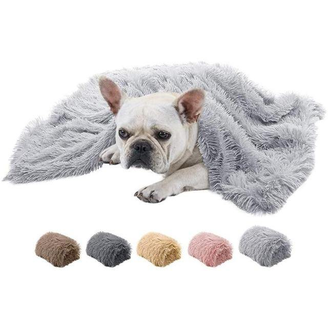 Pet Long Plush Soft Covers Sleeping Mats - The Pet Talk