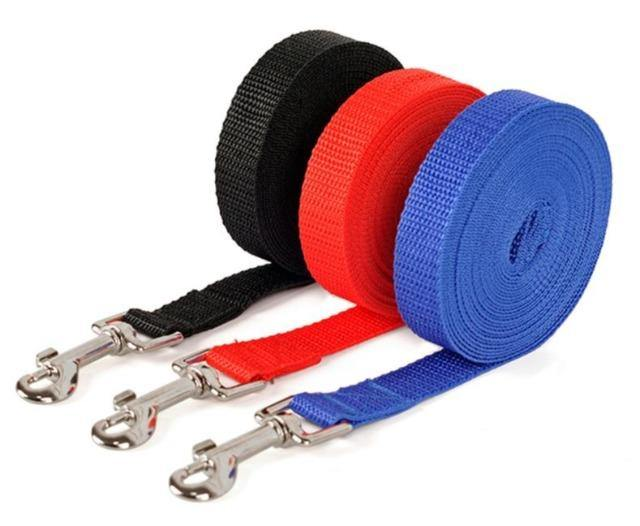 Nylon Dog Training Walking Leashes - The Pet Talk