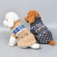 Winter Soft Knitting Pet Coat Clothes | The Pet Talk