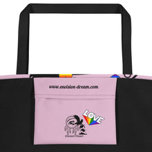 Load image into Gallery viewer, Envision Dream Catch All Pride Pink Tote Bag