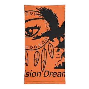 Envision Dream Versatile Orange Head Wrap and Neck Warmer