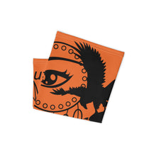 Load image into Gallery viewer, Envision Dream Versatile Orange Head Wrap and Neck Warmer