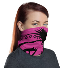 Load image into Gallery viewer, Envision Dream Versatile Pink Head Wrap and Neck Warmer
