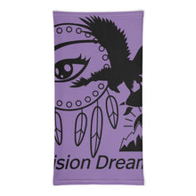 Load image into Gallery viewer, Envision Dream Versatile Purple Head Wrap and Neck Warmer
