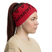 Load image into Gallery viewer, Envision Dream Versatile Red Head Wrap and Neck Warmer