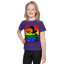 Load image into Gallery viewer, Envision Dream Rainbow Heart Purple Toddler