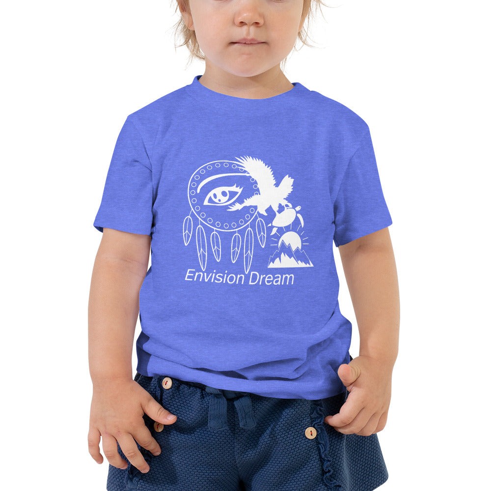 Envision Dream Blue Vision Toddler Short Sleeve Tee
