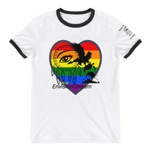 Load image into Gallery viewer, Envision Dream Rock-n-Roll Rainbow Heart Shirt