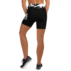Envision Dream Night Vision Black Yoga Shorts