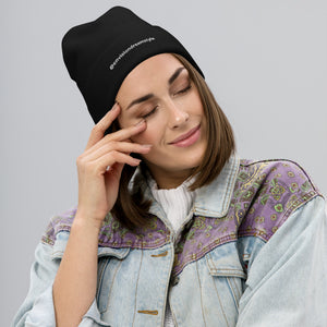 Envision Dream Style Embroidered Beanie