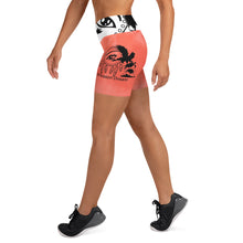 Load image into Gallery viewer, Envision Dream Coral Yoga Shorts