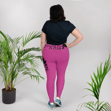 Load image into Gallery viewer, Envision Dream Color Vision Pink Big and Beautiful Yoga Leggings