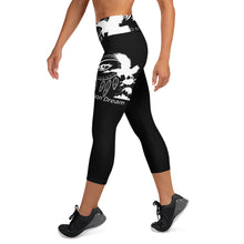 Load image into Gallery viewer, Envision Dream Night Vision Black Yoga Capri Leggings
